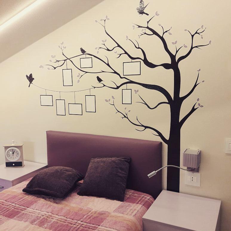 Murales su parete